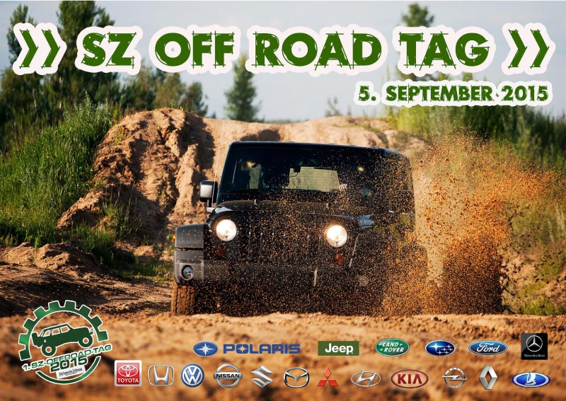 SZ OFF ROAD DAY