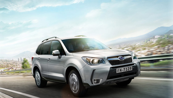 SUBARU FORESTER 2.0D LINEARTRONIC ab Ende März 2015
