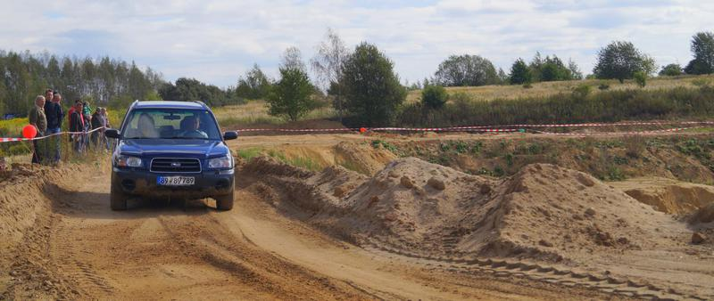 SUBARU Forester beim SZ Offroad Tag 2015